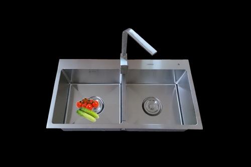 Chậu rửa inox NANOSI N–8545C